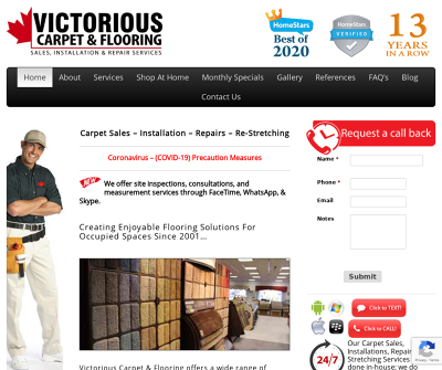 Carpet Sales – Carpet Installation – Carpet Repairs – Carpet Stretching | in Mississauga, ON