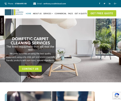 Carpet Cleaners in Leeds | Citie Cleaning Services