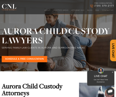 Aurora Child Custody Lawyer