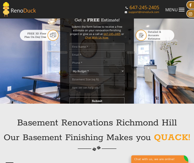 Basement Renovation Richmond Hill | RenoDuck