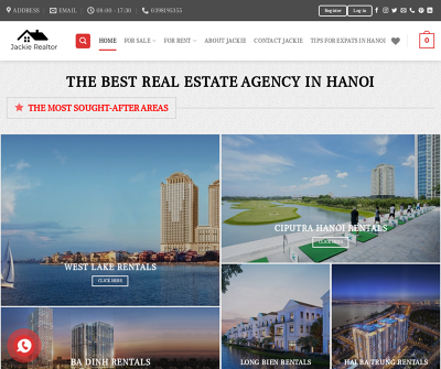 Real Estate For Sale In Hanoi | Apartments, houses, villas for rent in Hanoi