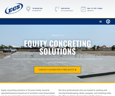 Equity Concreting Solutions Pty Ltd