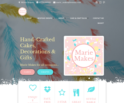 Marie Makes - Bespoke Cakes and Crafts