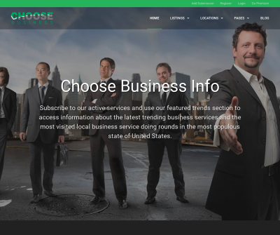 Choose Business | Local Business Listing