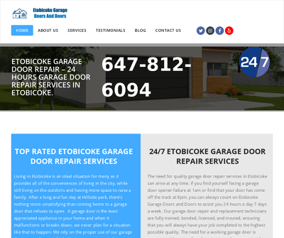 Etobicoke Garage Doors and Doors