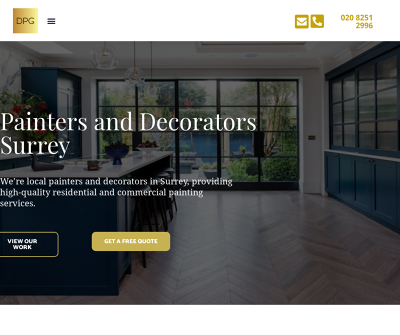Direct Painting Group - Painters and Decorators in Surrey