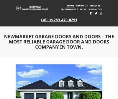 Newmarket Garage Doors And Doors