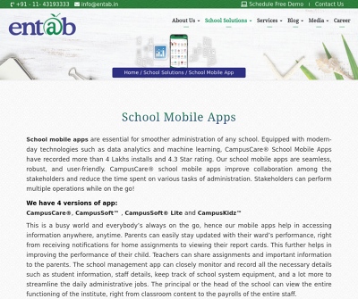 Entab - School Management System