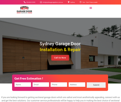 Sydney Garage Door Installation & Repair