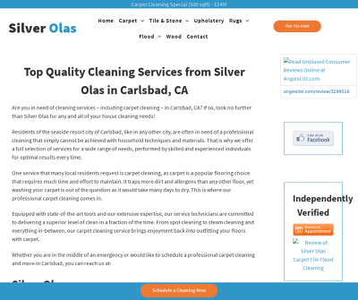 Silver Olas | Carpet Cleaning Carlsbad