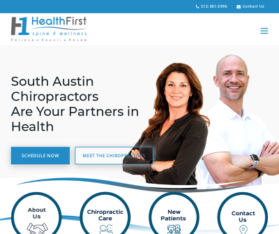 HealthFirst Spine & Wellness | Relieve, Repair, Renew