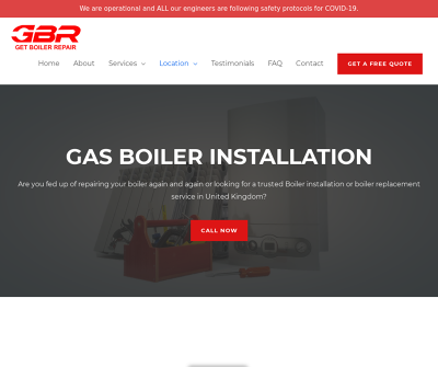 GBR Get Boiler Repair | Gas Boiler Installation