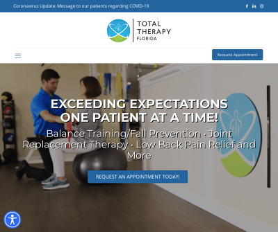 Total Therapy Florida - Balance Training, Fall Prevention in Osprey, Englewood and Venice