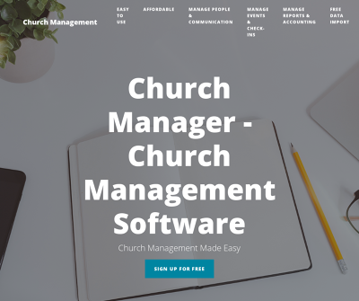 Church Manager | Our Software, The Perfect Partnership