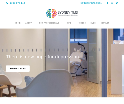Sydney TMS | New Hope for Depression