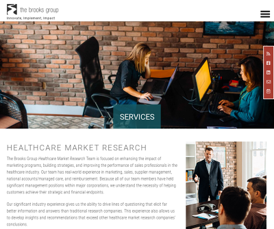 The Brooks Group & Associates, Inc. | Healthcare Market Research