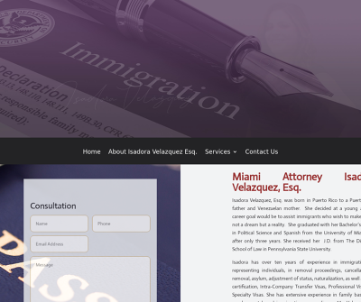 ISA Law | Immigration Lawyer, Isadora Velazquez, Esq.