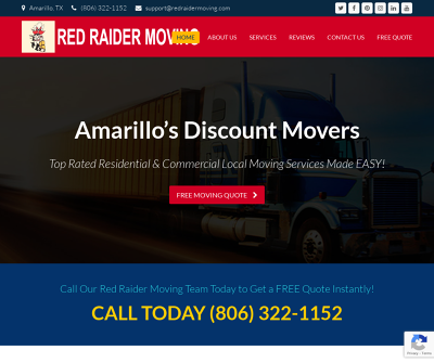 Red Raider Moving | Mover Amarillo, Residential and Commercial Local Moving