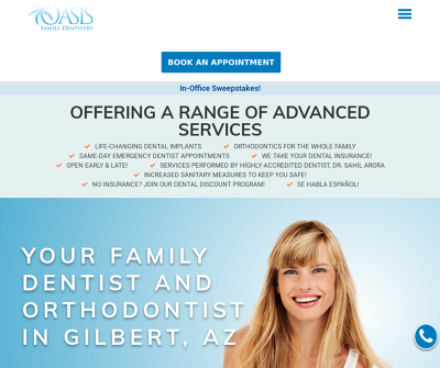 Oasis Family Dentistry | Family Dentistry and Orthodontics