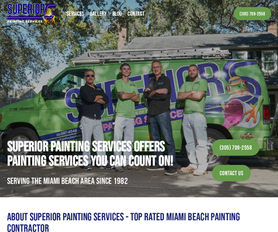 Superior Painting Services | Miami Beach Area