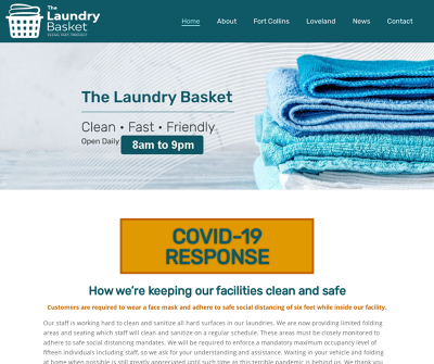 The Laundry Basket | Clean, Fast, Friendly