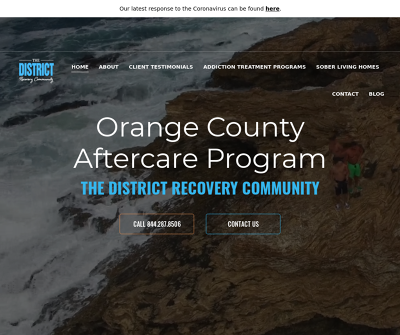 The District Recovery Community | Orange County Aftercare Program