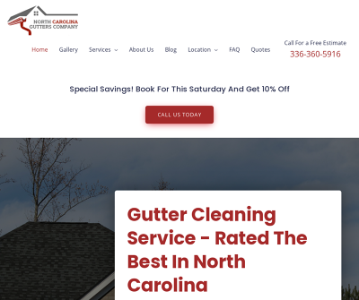 North Carolina Gutters Company | Rated The Best In North Carolina