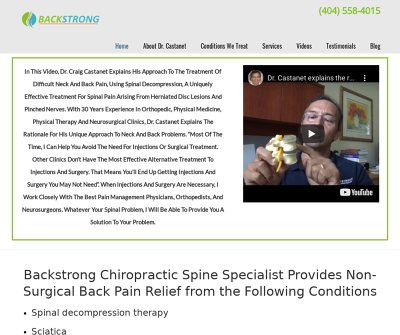 Backstrong | Decatur Chiropractor