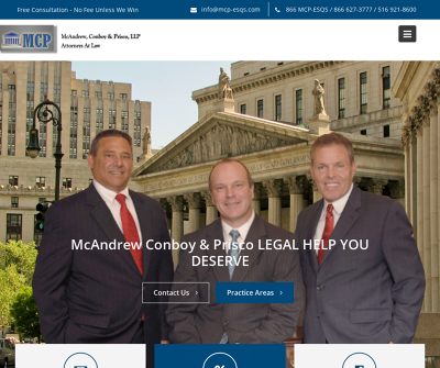 MCP McAndrew, Conboy & Prisco, LLP - Motorcycle Accident Lawyer