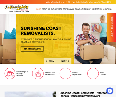 Enrights North Coast Removals - Removalists Sunshine Coast, Moving Services