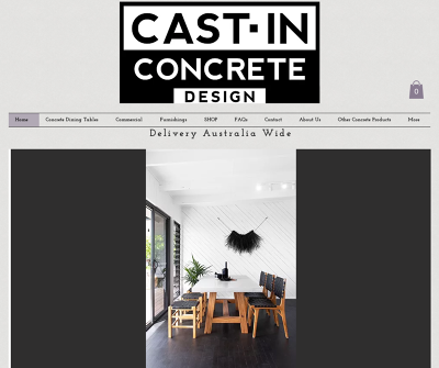 Cast-In Concrete Design - Concrete Furniture Gold Coast