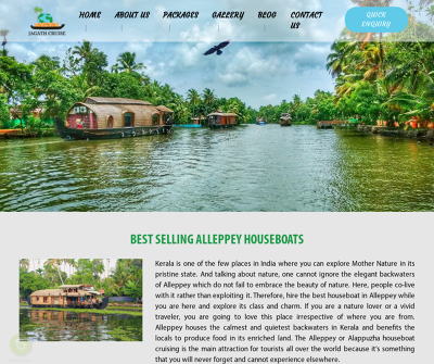 Jagath Cruise - Best Houseboat Service In Alleppy
