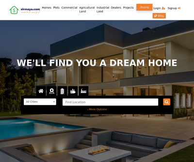 Sirmaya.com - Buy, Sell, Rent Property in Pakistan