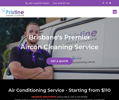 Pristine Aircon Cleaning - Brisbane's Premier Aircon Cleaning Service
