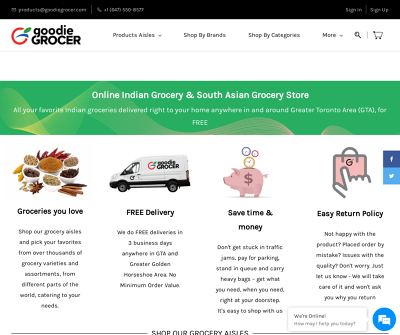 Goodie Grocer - Indian and South Asian Grocery Store