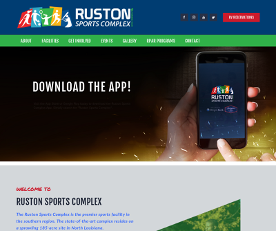 Ruston Sports Complex Youth and Adults Team Sports North Louisiana