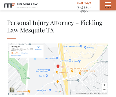 Fielding Law - Auto Accident Attorneys - Mesquite TX, Personal Injury Attorney