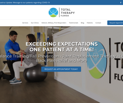 Total Therapy Florida - Englewood, Physical Therapy Clinic Osprey