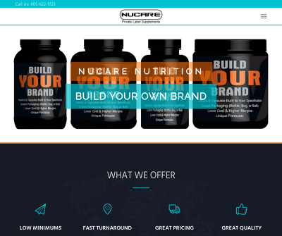Nucare Nutrition - Sports Supplements Private Label Company
