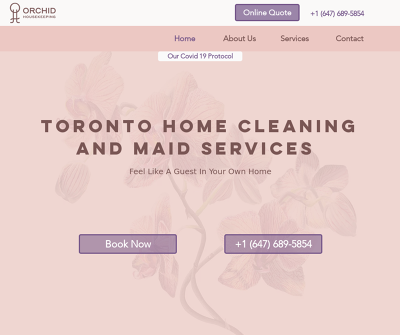 Orchid Housekeeping - Maintenance Cleaning - Easy Booking