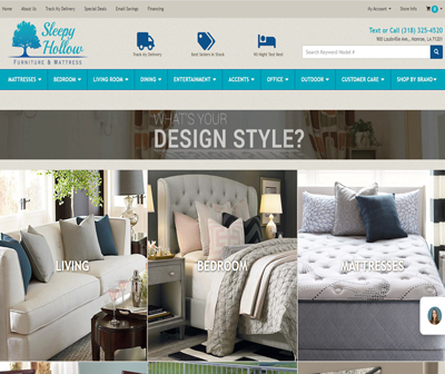 Sleepy Hollow Furniture - Mattress and Home Furnishings