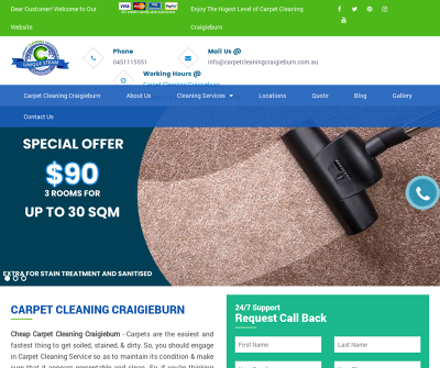 Carpet Cleaning Craigieburn - Unique Steam Cleaning