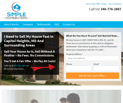 Simple Homebuyers - We Buy Houses in Capitol Heights MD