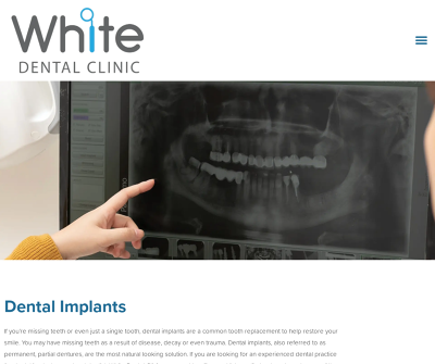 White Dental Clinic - General Dental, Child Dentistry, Emergency Dentistry