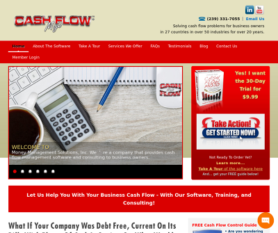 Cash Flow Mojo | Business Cash Flow Software