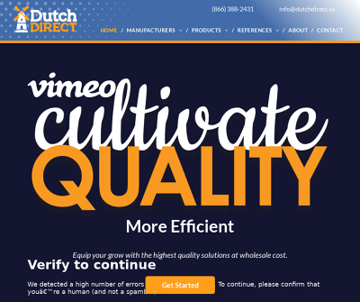 Dutch Direct | Cultivate Quality