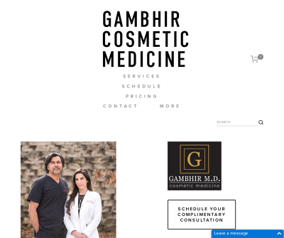 Gambhir Cosmetic Medicine | Face and Neck Treatments, Body Treatments