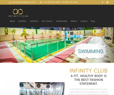 Infinity Club - The Complete Fitness Center