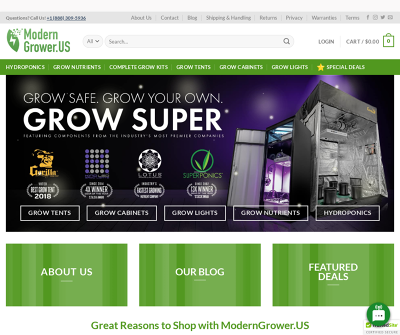 ModernGrower.US | Grow Safe, Grow Your Own