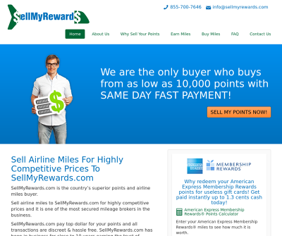 Sell My Rewards | Airline Miles